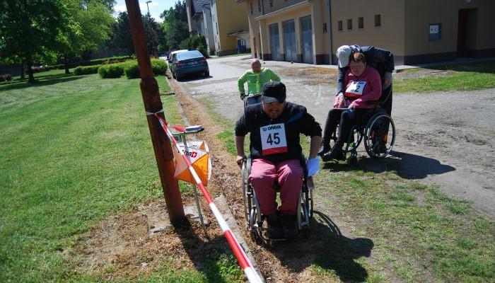 Orientační závody zdravotně postižených
